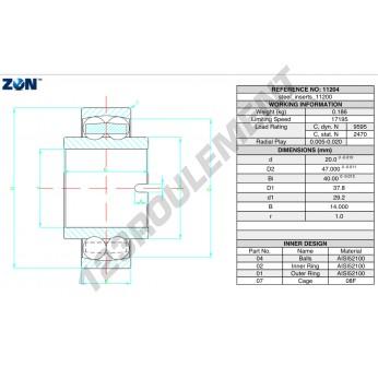 11204-ZEN - 20x47x40 mm