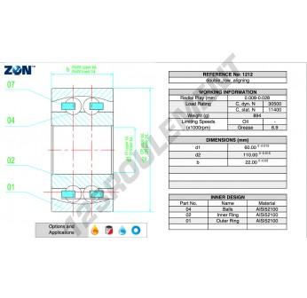 1212-TN-ZEN - 60x110x22 mm