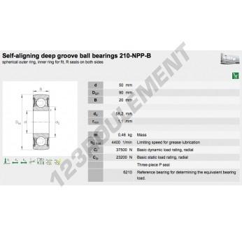 210-NPP-B-INA - 50x90x20 mm