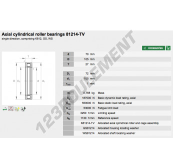 81214-TV-INA - 70x105x27 mm