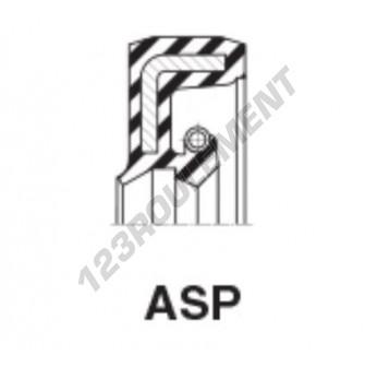 ASP-25X40X7-NBR
