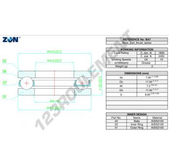 B7-ZEN - 7x17x6 mm