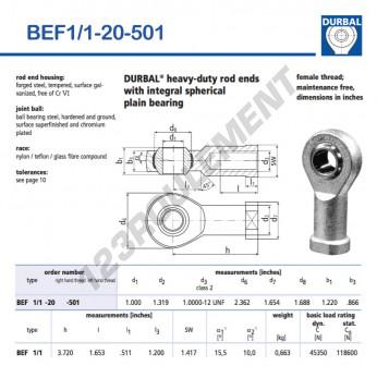 BEF1-1-20-501-DURBAL