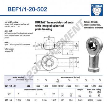 BEF1-1-20-502-DURBAL