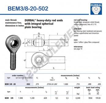 BEM3-8-20-502-DURBAL