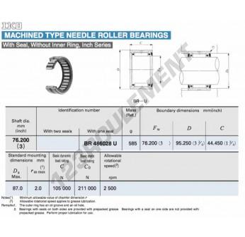 BR486028-U-IKO - 76.2x95.25x44.45 mm