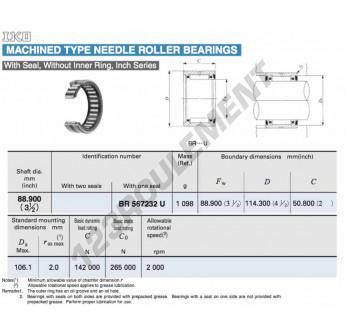 BR567232-U-IKO - 88.9x114.3x50.8 mm