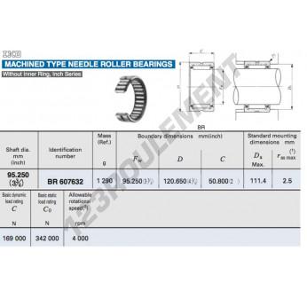 BR607632-IKO - 95.25x120.65x50.8 mm
