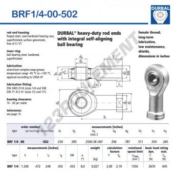 BRF1-4-00-502-DURBAL