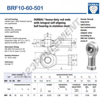 BRF10-60-501-DURBAL