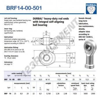 BRF14-00-501-DURBAL