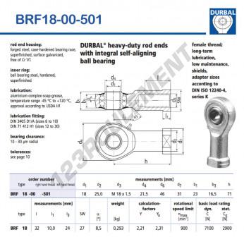 BRF18-00-501-DURBAL