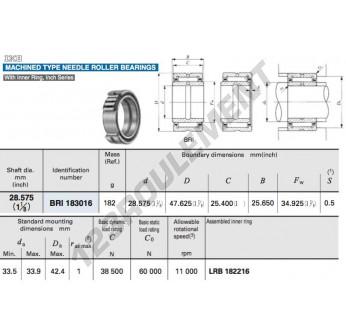 BRI183016-IKO - 28.58x47.69x25.65 mm