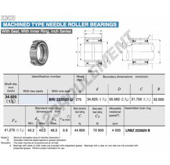 BRI223520-U-IKO - 34.93x55.56x31.75 mm
