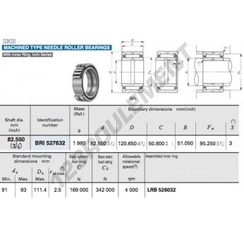 BRI527632-IKO - 82.55x120.65x51.05 mm