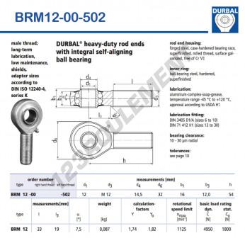 BRM12-00-502-DURBAL