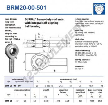 BRM20-00-501-DURBAL