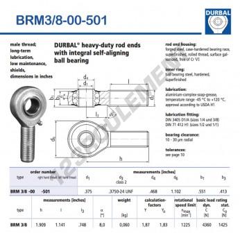 BRM3-8-00-501-DURBAL