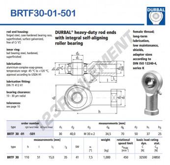 BRTF30-01-501-DURBAL