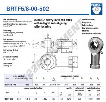 BRTF5-8-00-502-DURBAL