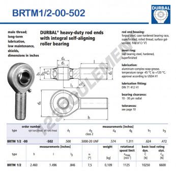 BRTM1-2-00-502-DURBAL