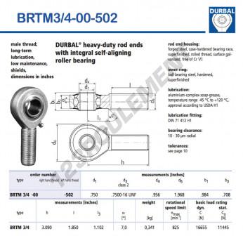 BRTM3-4-00-502-DURBAL