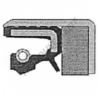 COMBI-SF6-40X65X18.5-NBR-CORTECO