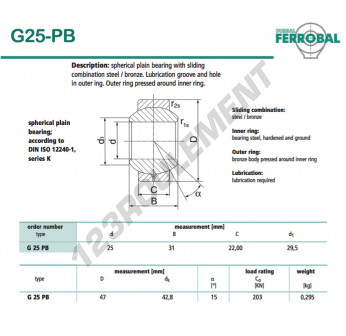 DG25-PB-DURBAL