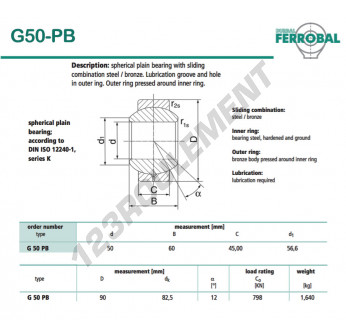 DG50-PB-DURBAL