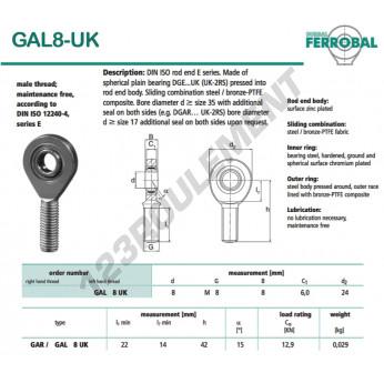 GAL8-UK-DURBAL