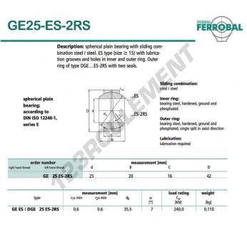 GE25-ES-2RS-DURBAL
