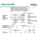 DGE45-HO-2RS-DURBAL