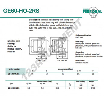 GE60-HO-2RS-DURBAL