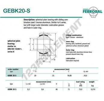 GEBK20-S-DURBAL