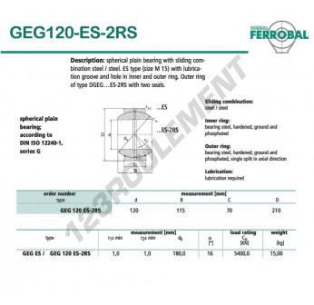 GEG120-ES-2RS-DURBAL