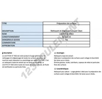 SF-7063-150ML-LOCTITE