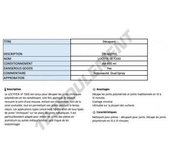 SF7200-400ML-LOCTITE